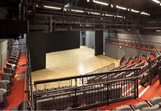 UAL Kings Cross Platform Theatre | Theatre, Creative Media