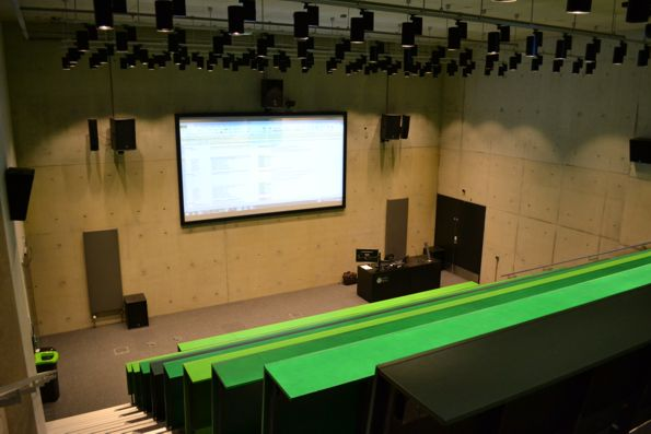 Lecture theatre with full AV installation