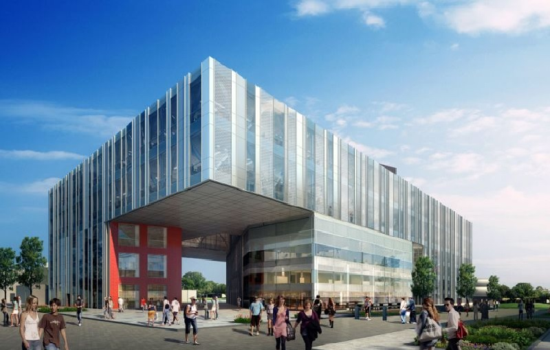 Salford University New Adelphi building